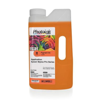 EPSON Stylus Pro için 1000 ml ORANGE Pigment Plotter Mürekkep (T-EPR)